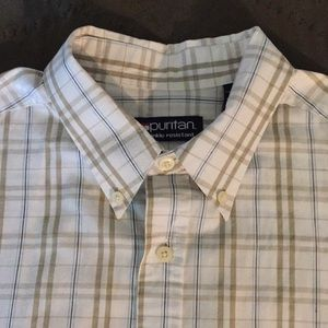 Puritan Short Sleeve Button Down Shirt